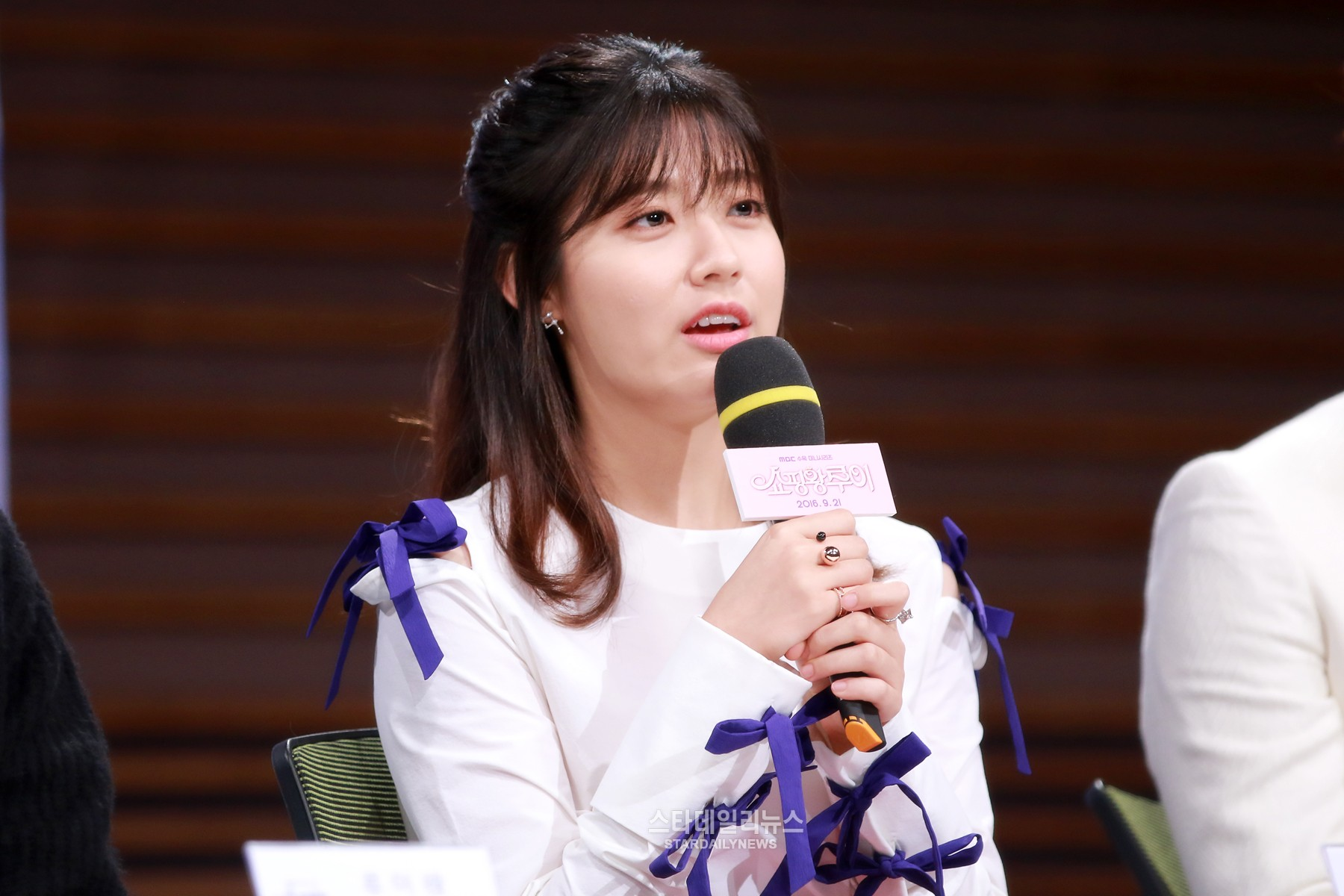 """Nam Ji Hyun Talks About Tackling Her First Lead Role In """"Shopping King Louie"""""""