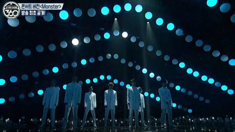 """Watch: EXO Performs Concert Version Of """"Monster"""" For The First Time On """"Star Show 360"""""""