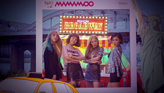 "Watch: MAMAMOO Just Wants To Have A Good Time In ""New York"" MV"