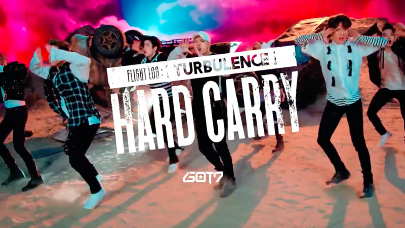 "Watch: GOT7 Drops Choreography Teaser Video For ""Hard Carry"""