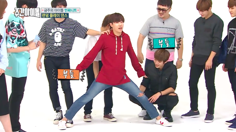 """Watch: Sunggyu Takes All The Penalties For INFINITE During Random Play Dance On """"Weekly Idol"""""""