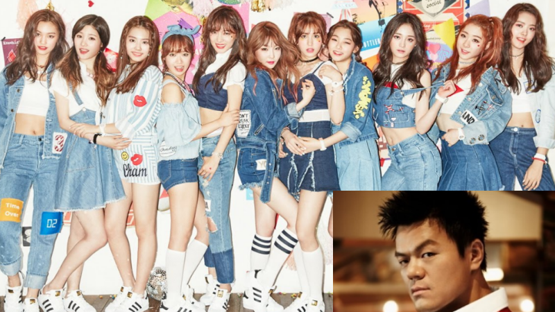 I.O.I's Comeback Song To Be Produced By Park Jin Young
