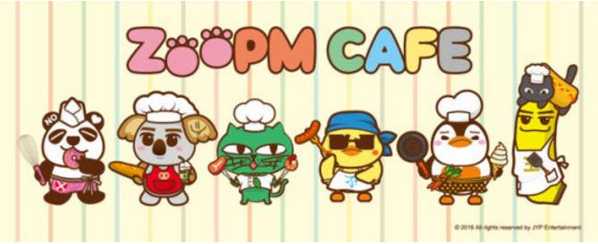 """2PM Opens """"ZooPM Cafe"""" In Japan As Surprise Concert Promotion"""