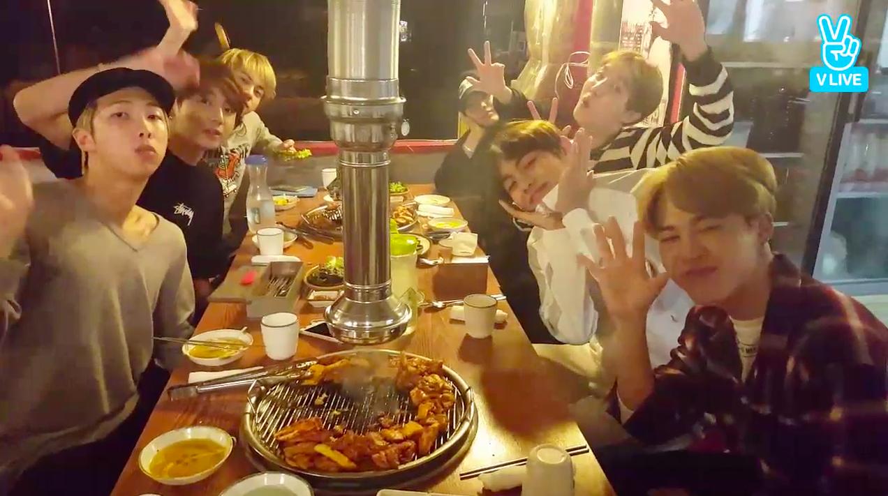 BTS Celebrates 3 Million Followers On V App, Throws ...