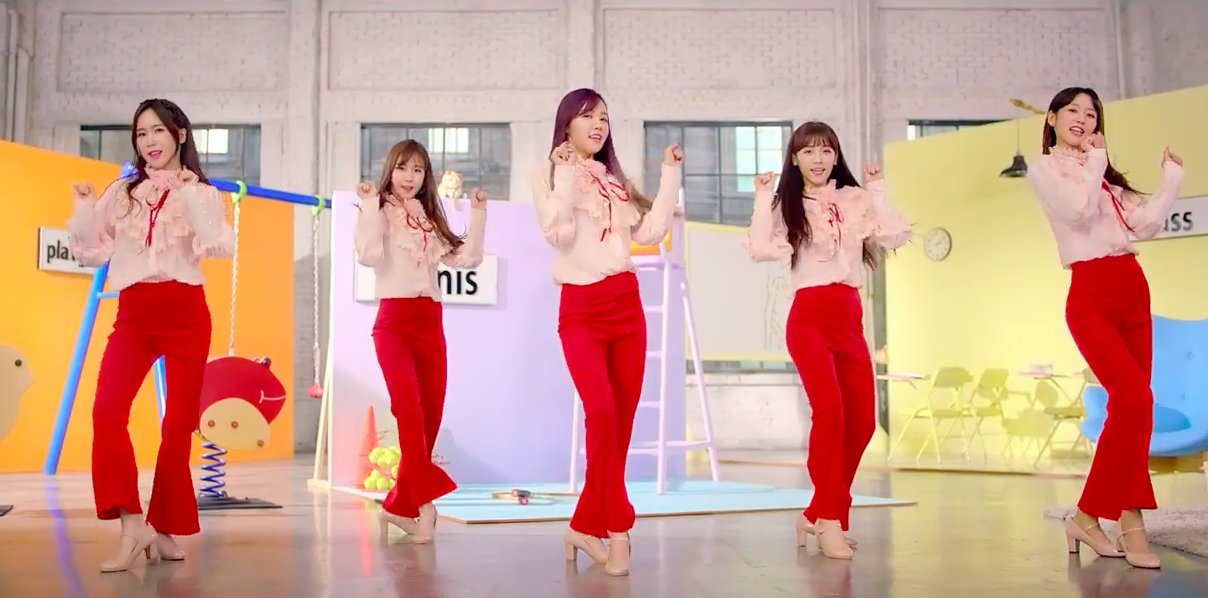 "Watch: Crayon Pop Returns With MV For Catchy Track ""Doo Doom Chit"""