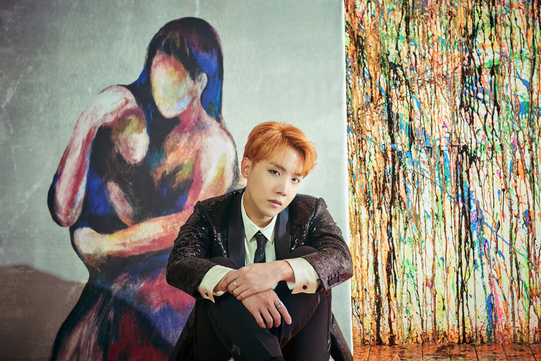 Bts S V And J Hope Feature In Gorgeous New Concept Photos
