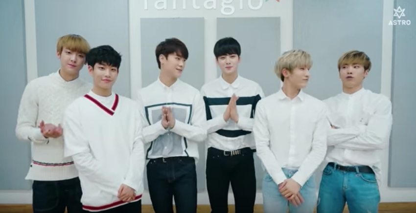 "Watch: ASTRO Taking Applications For First Official Fanclub ""AROHA"""