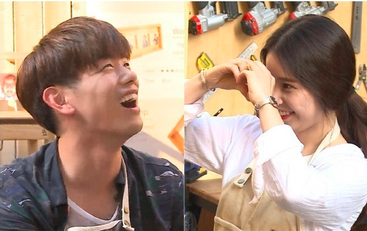 Solar Falls For Eric Nam's Furniture-Making Skills (Take That, IKEA)