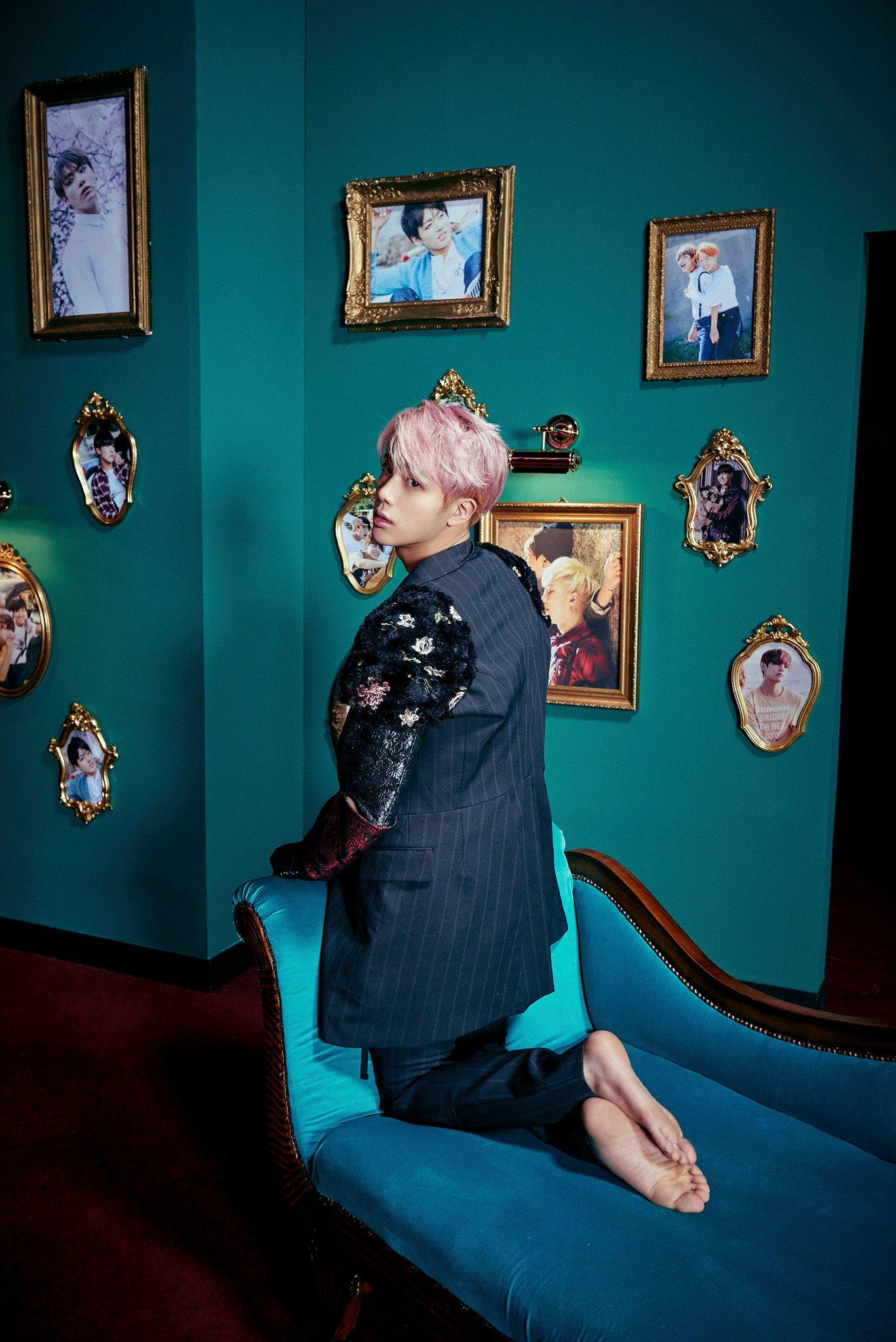 BTS revela fotos de conceptos para Jin y el grupo (Y por