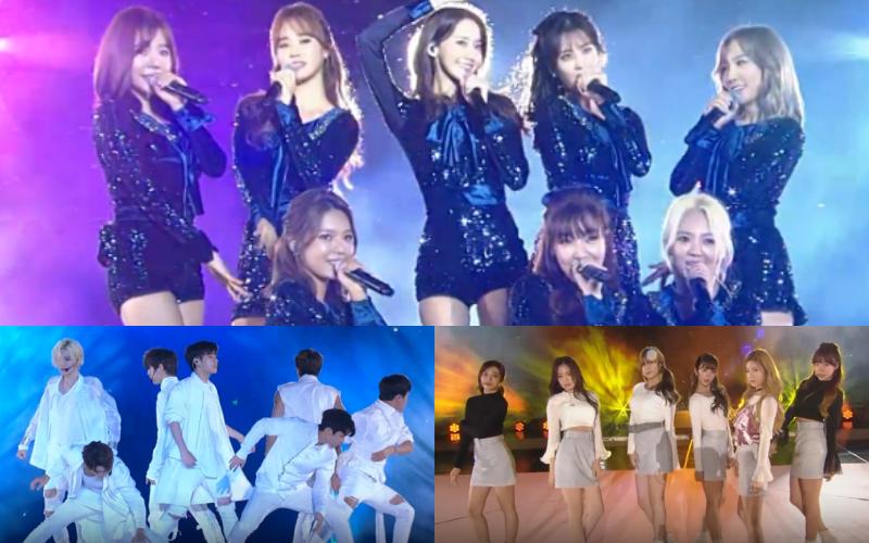 Girls Generation INFINITE Apink