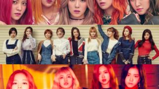 Red Velvet TWICE BLACKPINK