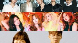BIGBANG BLACKPINK Akdong Musician
