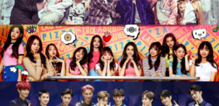 BTS I.O.I EXO
