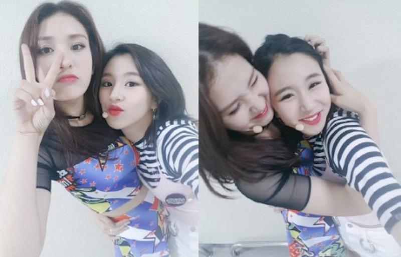 I.O.I Jeon Somi TWICE Chaeyoung