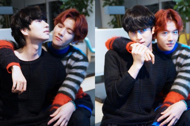 Heechul and Baekhyun 2
