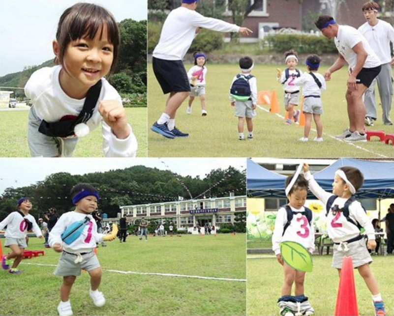 With the return of superman cast for special sports day episode