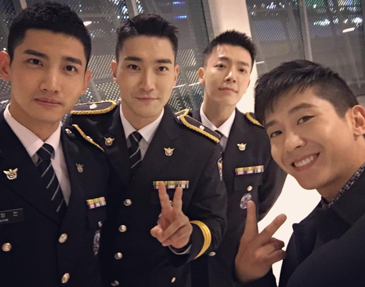 Brian Joo Super Junior Choi Siwon Donghae Changmin TVXQ