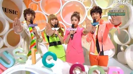 MBC Music Core 05.07.11