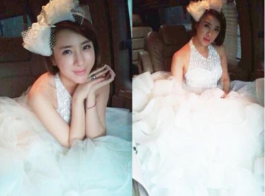Seo In Young Radiates Purity and Elegance in a Wedding Dress