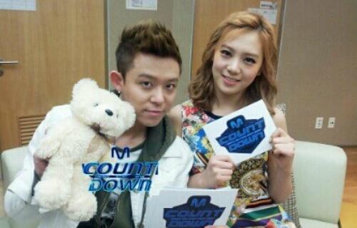 "Mnet ""M! Countdown"" – Mar. 15, 2012"