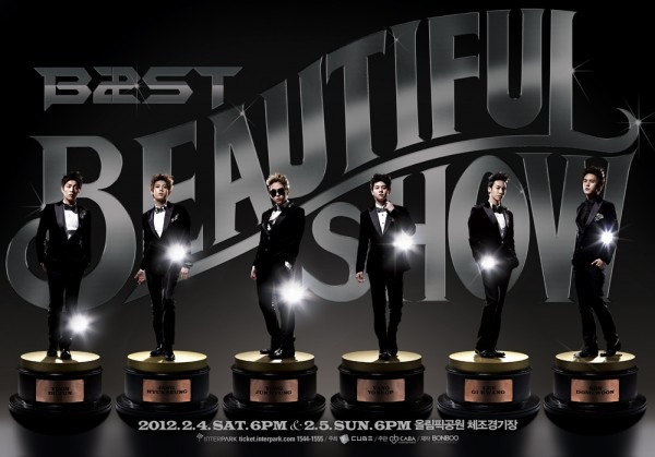 "BEAST Successfully Ends ""Beautiful Show"" in Singapore"