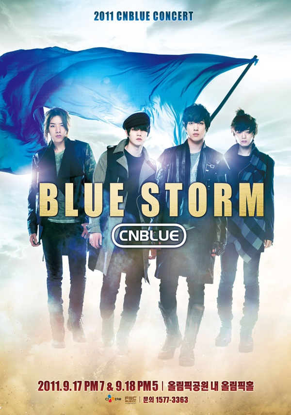 "CN Blue's ""Bluestorm"" in Bangkok Rocked 10,000 and Raised Help for Charity"