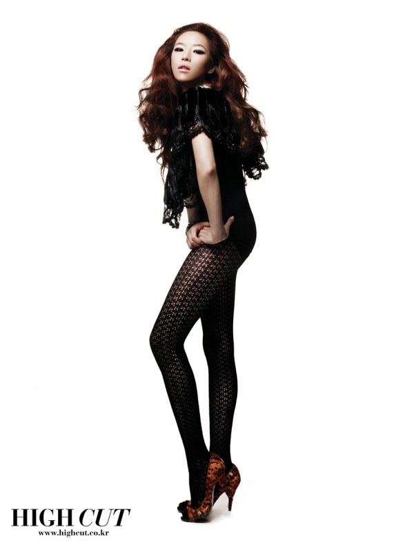 Ga-In Shows Off Her Long Legs