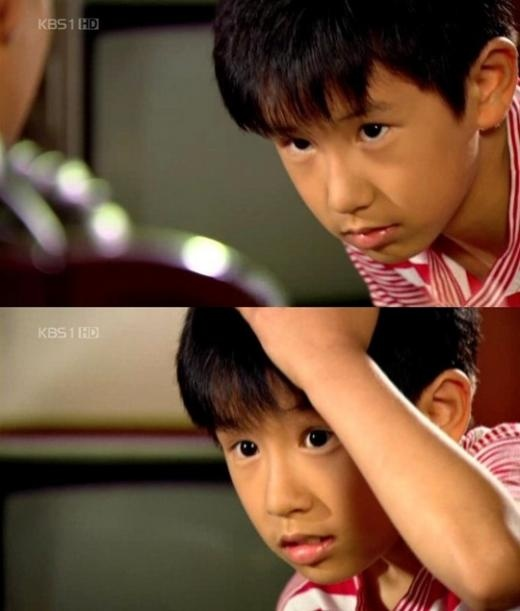 No Min Woo and Sulli as Child Actors