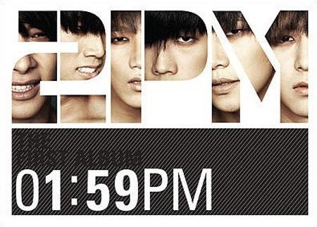 """2PM Comeback Album """"1:59 PM"""""""