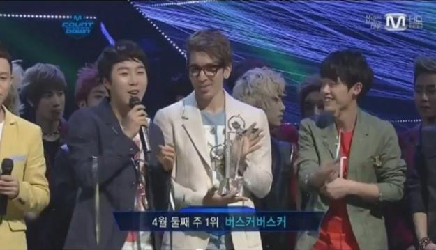 Mnet M! Countdown – April 12, 2012