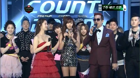 Mnet M! Countdown 02.17.11