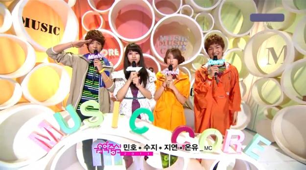 MBC Music Core 07.02.11