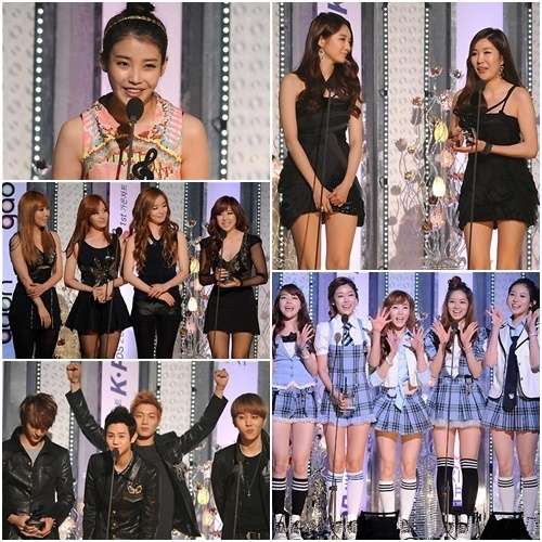 "Winners Announced for ""1st Gaon Chart K-Pop Awards"""