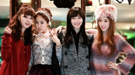 "Yoon Eun Hye, Yoo In Na, Park Han Byul, and Cha Ye Ryun Team up for ""My Black Mini Dress"""