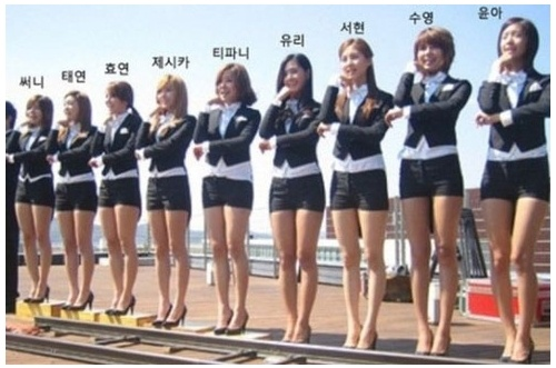 girls-generation-height-ranking_image