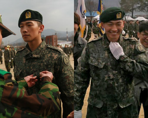 Rain's Military Training Photos Released