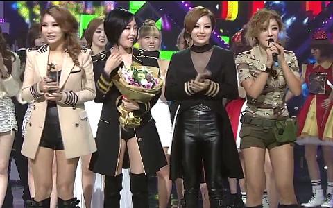 SBS Inkigayo 10.23.11