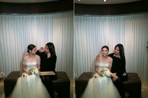 Stars Attend Park Si Yeon's Wedding