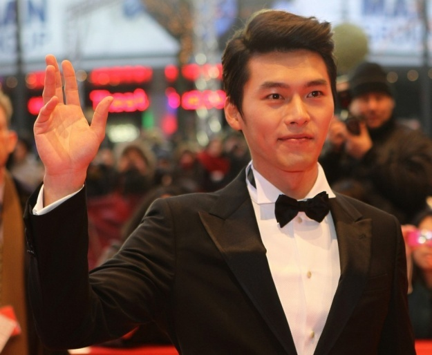 Hyun Bin in Sexy Black Tuxedo at the Berlin International Film Festival