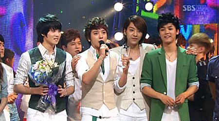SBS Inkigayo 07.04.10 Performances
