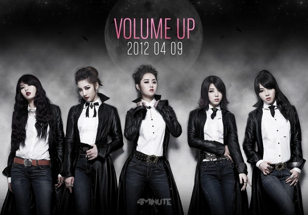 "4minute Unveils Second Teaser Image for ""Volume Up"""