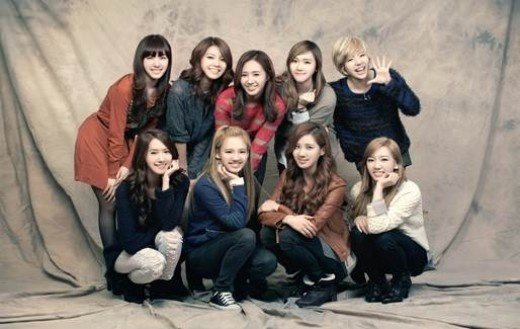 Girls' Generation Chosen As PR Reps for the Kangnam District