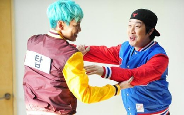 BIGBANG T.O.P.'s 180 Degree Personality Change on Running Man