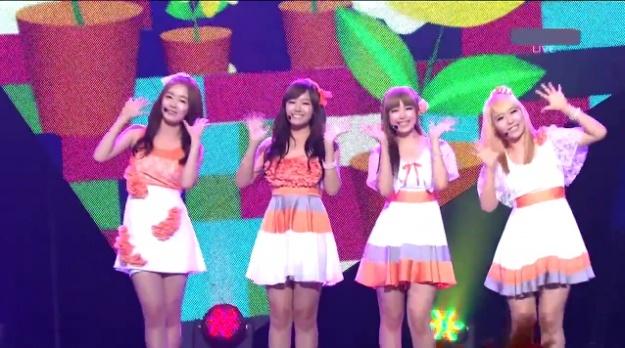 Weekly K-Pop Music Chart 2011 – July Week 1