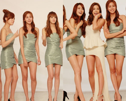After School and Son Dam Bi's Perfect Bodylines in Unedited Photos Gains Attention