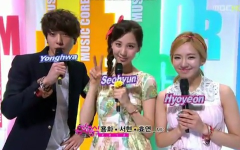 MBC Music Core Performances 04.07.12