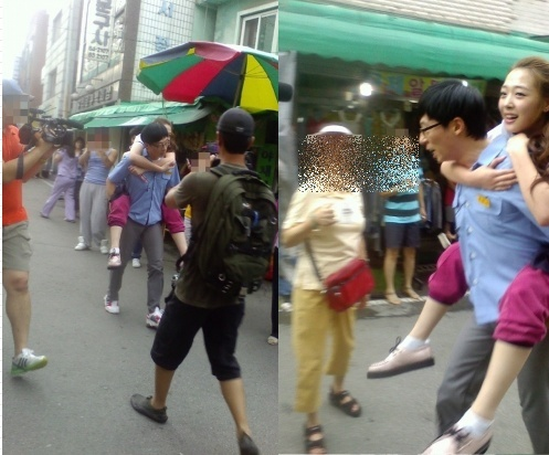 "Yoo Jae Suk Piggybacks Sulli on ""Running Man"""