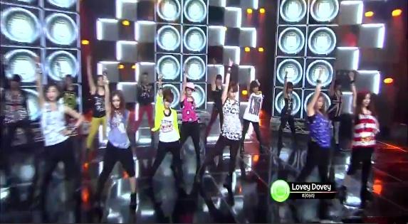 SBS Inkigayo 01.15.2012