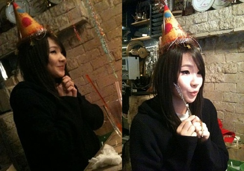 2NE1 Celebrates CL's Birthday Together
