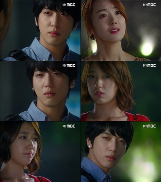 "[Scene Recap] ""Heartstrings"": Park Shin Hae Spots Jung Yong Hwa & So Yi Hyun Being Together Once Again"